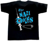 "T-Shirt ""Nazi Dogs"" - Pink / Blue"