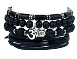 Ibiza charm bracelet - black