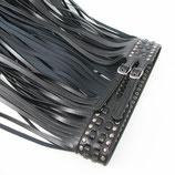 Design Fringe Belt - Zwart
