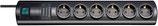 brennenstuhl® Primera-Tec 19.500A Überspannungsschutz-Steckdosenleiste 6-fach schwarz