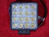 LED Strahler Arbeitsscheinwerfer 48 Watt     12/24 Volt