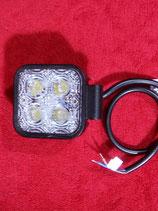 LED Strahler Arbeitsscheinwerfer 12 Watt    12/24 Volt