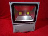 100 Watt LED Strahler 2 LED´s, Kaltweiß, Gehäuse grau oder warmweiß, Gehäuse schwarz