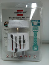 brennenstuhl® Weltreisestecker BWA USB