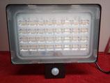 100 Watt LED Strahler der neusten Generation, 120lm/Watt, warmweiß, mit Bewegungsmelder