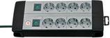 brennenstuhl® Premium-Line, Technik 8-fach Duo mit 4-fach Steckdose 3 m Kabel