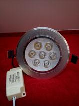 LED Einbau Spot 7 Watt rund