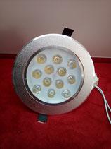 LED Einbau Spot 12 Watt rund