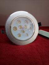LED Einbau Spot 9 Watt rund