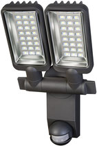 brennenstuhl® Duo Premium City SV5405 PIR LED-Strahler IP44