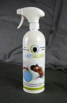 AntiAcari Milbenspray - In der 750 ml-Flasche mit praktischem Sprühkopf.