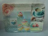 Tablett Vintage Cupcakes