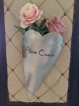 "FLOWERPOT Alu Herz ""Mon coeur"""