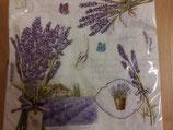 """Serviette """"Lavendel"""", 33x33"""