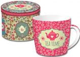 Jumbobecher Teatime Pink