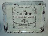 Tablett La Cuisine