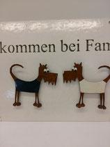 FLOWERPOT Magnet Struppi zu Familien-Magnettafel