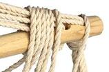 Hangstoel Polle met streep