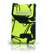 SMARTPHONE/ HARD DISC BAG | SAMPLE PIECE  |  NEONYELLOW