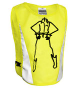 GOVIS© MEN Weste 'PAUL' NEON YELLOW