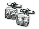 Slabbinck 4813 聖職者のカフスボタン 銀925 (同梱のみ)