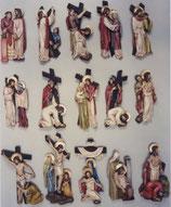 Slabbinck 5415 多色十字架の道(30から42 cm)