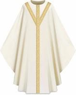 Slabbinck カズラ Assisiコレクション 701051 典礼色 白