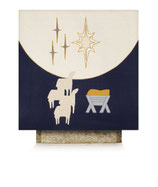 SLABBINCK  3812  クリスマス 祭壇布