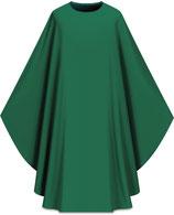 Slabbinck カズラ Assisiコレクション 701003 典礼色 緑