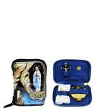 ロザリオ在庫品 Astucci Portaviatico Viaticum Cases  Art A157-A ルルドの聖母ポーチ
