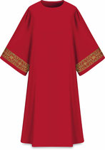 Slabbinck ダルマティカ Assisiコレクション 707012 典礼色 赤