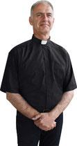 Slabbinck Assisi  聖職者用 半袖 事務服 黒 721225 -65