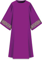 Slabbinck ダルマティカ Assisiコレクション 707014 典礼色 紫