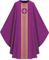 Slabbinck カズラ Assisiコレクション 701043 典礼色 紫