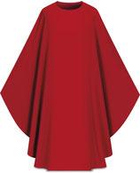 Slabbinck カズラ Assisiコレクション 701002 典礼色 赤