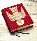 Slabbinck  聖書カバー 赤 1855