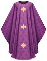Slabbinck  3978 ゴシック様式 カズラ ストラ 祭壇カバー 書見台カバー バース(チャリスベールなし)