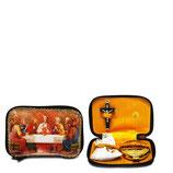 ロザリオ在庫品 Astucci Portaviatico Viaticum Cases  Art A157-C  最後の晩餐ポーチ