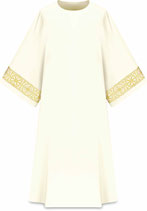 Slabbinck ダルマティカ Assisiコレクション 707011 典礼色 白
