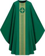 Slabbinck カズラ Assisiコレクション 701043 典礼色 緑