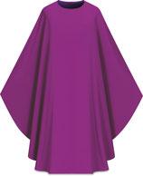 Slabbinck カズラ Assisiコレクション 701004 典礼色 紫