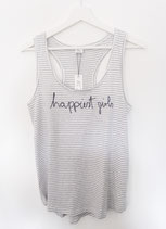 "Tanktop ""happiest girls are the prettiest"""