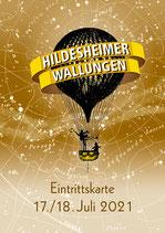 Ticket Hildesheimer Wallungen 17./18. Juli 2021