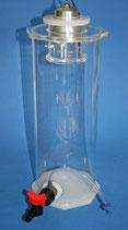 Knepo Planktonreaktor Luft betrieben 6 Liter