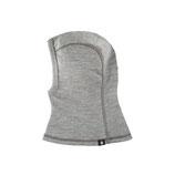PURE PURE Wolle-Seide Schlupfmütze  grau