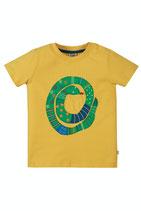 FRUGI Tshirt  Snake gelb