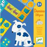 """djeco Domino """"Farben"""" 28pc, 3+"""