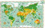 DJECO Puzzle Reise um die Welt