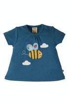 FRUGI T-Shirt Biene  blau