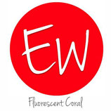 "EasyWeed HTV Fluorescent Coral - 15"" x 12"" - Sheet"